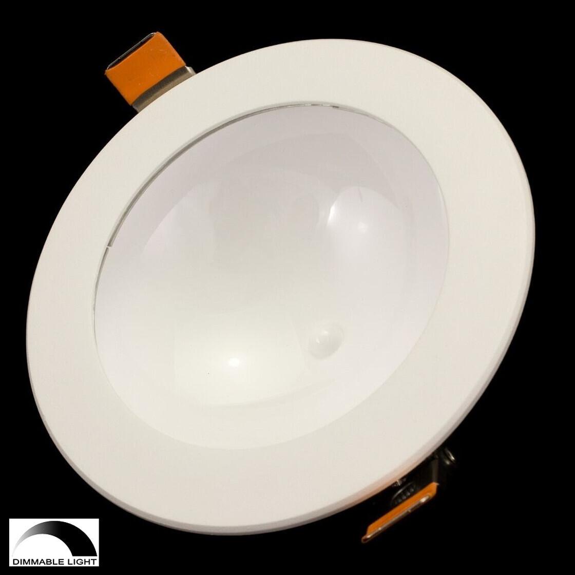 12w indirekter led ufo dimmbar deckenlampe rund wei er einbaustrahl 18 54. Black Bedroom Furniture Sets. Home Design Ideas