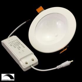 12W indirekter LED UFO dimmbar Deckenlampe, rund,...