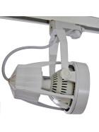 35W LED Strahler weiß schwenkbar E27 neutralweiß Stromschienenstrahler 4000K Euroschiene Schienenstrahler Leuchte