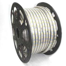 230V LED Streifen Warmweiß 2700K 5050 SMD 60/m IP44...