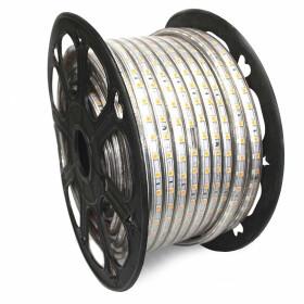 230V LED Streifen Warmweiß 3000K 5050 SMD 60/m IP44...