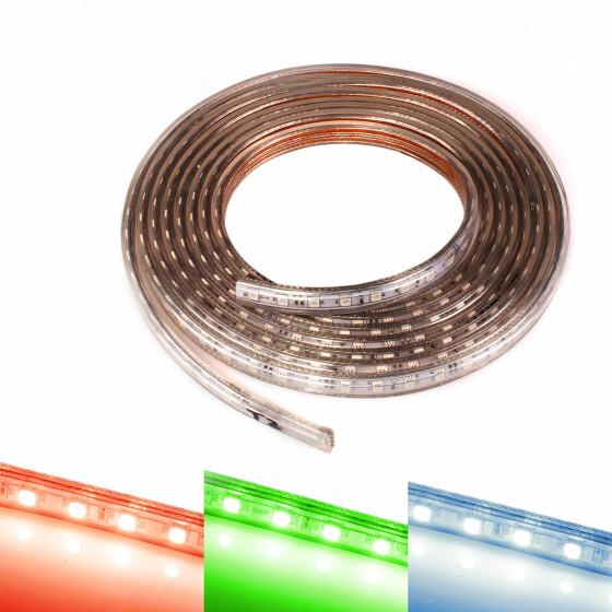 230v Led Streifen Rgb Band Streifen Leiste Ip44 Stripe Dimmbar