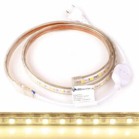 230V LED Streifen Neutralweiß 4000K 5050 SMD 60/m...