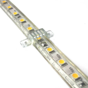 Halter / Halterung für 13mm 230V LED Streifen, Leiste, Strip SMD 5050