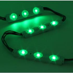 LED 3er Modul RGB SMD wasserdicht selbstklebend viele Farben DC12V Werbung mehrfarbig Beleuchtung für Außenreklame 20 Stk. In Reihe