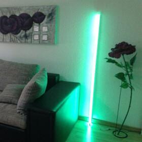 60cm LED RGB Aluminium Röhre mit 10 Tasten...