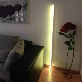 120cm LED RGB Aluminium Röhre mit 10 Tasten...