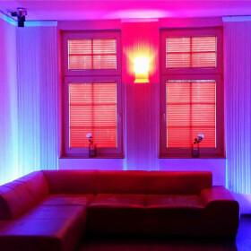 150cm LED UV Aluminium Röhre ALU Tube Schwarzlicht Partylicht Neonröhre ultraviolettes Licht Leuchtstofflampe Lampe Party Club