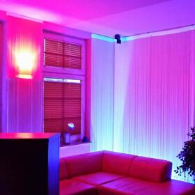 90cm LED UV Aluminium Röhre ALU Tube Schwarzlicht Partylicht Neonröhre ultraviolettes Licht Leuchtstofflampe Lampe Party Club