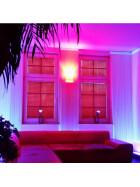 60cm LED UV Aluminium Röhre ALU Tube Schwarzlicht Partylicht Neonröhre ultraviolettes Licht Leuchtstofflampe Lampe Party Club
