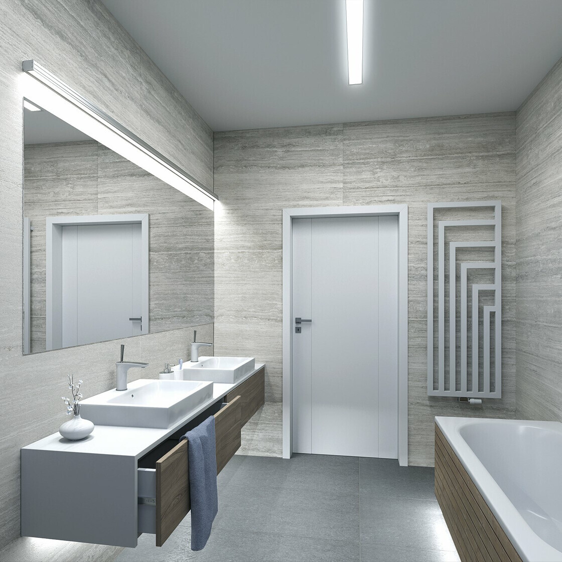 premium 5m rolle 12v wei ip20 sehr helle smd 2835 led strei. Black Bedroom Furniture Sets. Home Design Ideas