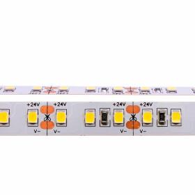 DEMODU® PREMIUM 24V LED Streifen weiße Farbtöne 5m Rolle IP20 sehr hell 2835 SMD 120/m selbstklebend dimmbar