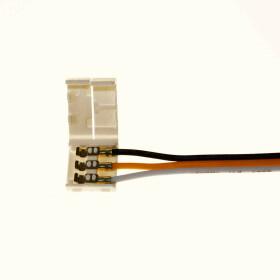 3 adrig LED weißes Licht Kabel Litze...