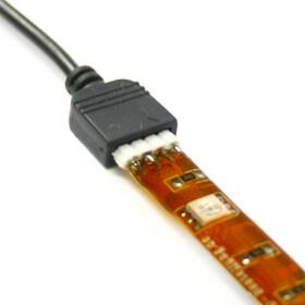10cm Verbindungskabel für 12V und 24V SMD LED RGB Streifen
