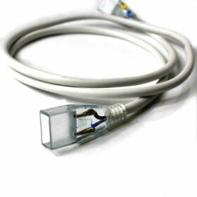 Verbindungskabel 100cm für einfarbige 230V SMD LED Streifen Verlängerungskabel Kabel