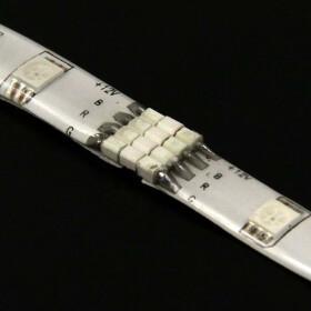 4-PinVerbinder für RGB SMD Streifen Steckverbinder Schnellverbinder CON-4P-PLUG