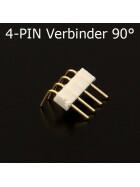 4-Pin 90° Eckverbinder Grad für RGB-SMD-StreifenVerbinder Ecke CON-4P-PLUG90D