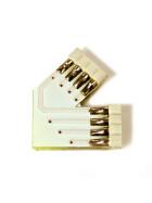 Eckverbinder 45° Grad + für RGB SMD Streifen Leisten