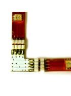 Eckverbinder 90° Grad für RGB SMD Streifen Leisten