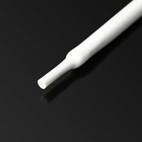 Schrumpfschlauch weiß 10mm Durchmesser 2:1 Meterware