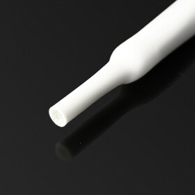 Schrumpfschlauch weiß 17mm Durchmesser 2:1 Meterware