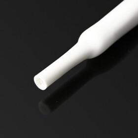 Schrumpfschlauch weiß 18mm Durchmesser 2:1 Meterware