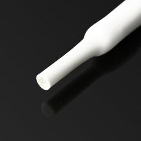 Schrumpfschlauch weiß 20mm Durchmesser 2:1 Meterware