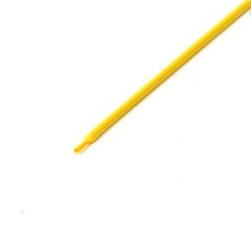 Schrumpfschlauch gelb 1mm Durchmesser 2:1 Meterware
