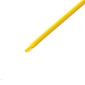 Schrumpfschlauch gelb 3mm Durchmesser 2:1 Meterware
