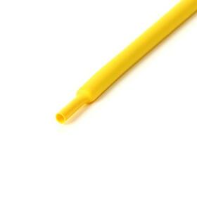 Schrumpfschlauch gelb 9mm Durchmesser 2:1 Meterware
