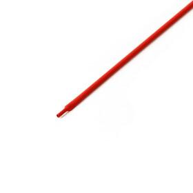 Schrumpfschlauch rot 1mm Durchmesser 2:1 Meterware