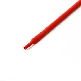 Schrumpfschlauch rot 5mm Durchmesser 2:1 Meterware