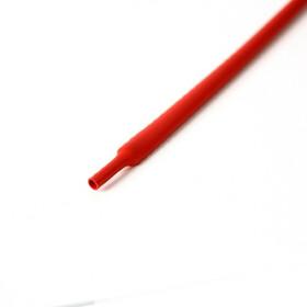 Schrumpfschlauch rot 6mm Durchmesser 2:1 Meterware