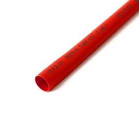 Schrumpfschlauch rot 12mm Durchmesser 2:1 Meterware