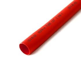 Schrumpfschlauch rot 16mm Durchmesser 2:1 Meterware