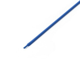 Schrumpfschlauch blau 1mm Durchmesser 2:1 Meterware