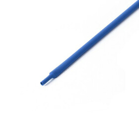 Schrumpfschlauch blau 3mm Durchmesser 2:1 Meterware