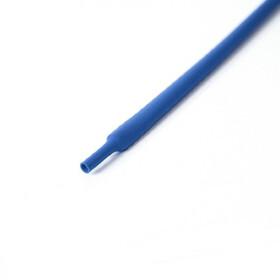 Schrumpfschlauch blau 6mm Durchmesser 2:1 Meterware