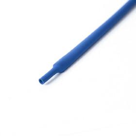 Schrumpfschlauch blau 7mm Durchmesser 2:1 Meterware