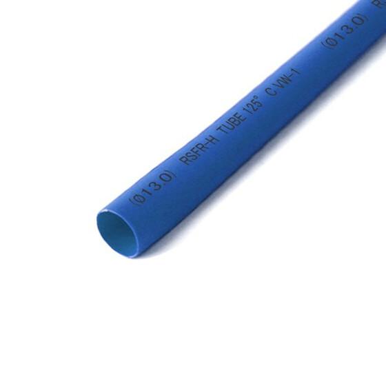 Schrumpfschlauch blau 13mm Durchmesser 2:1 Meterware