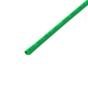 Schrumpfschlauch grün 3mm Durchmesser 2:1 Meterware