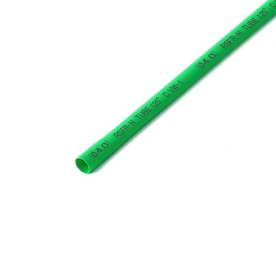 Schrumpfschlauch grün 4mm Durchmesser 2:1 Meterware