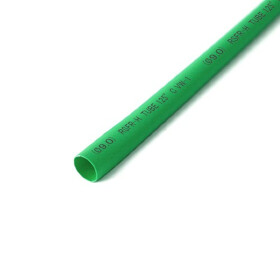 Schrumpfschlauch grün 9mm Durchmesser 2:1 Meterware