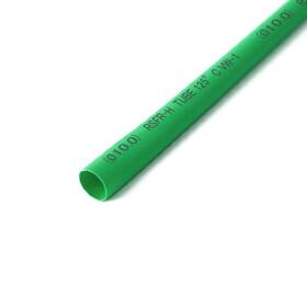 Schrumpfschlauch grün 10mm Durchmesser 2:1 Meterware