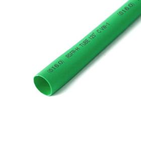 Schrumpfschlauch grün 16mm Durchmesser 2:1 Meterware