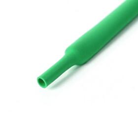 Schrumpfschlauch grün 17mm Durchmesser 2:1 Meterware