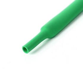 Schrumpfschlauch grün 19mm Durchmesser 2:1 Meterware