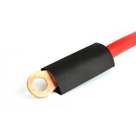 Schrumpfschlauch schwarz 12mm Durchmesser 2:1 Meterware