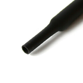 Schrumpfschlauch schwarz 20mm Durchmesser 2:1 Meterware